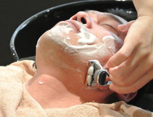 10Styleのシェービング(男性の顔剃り)です